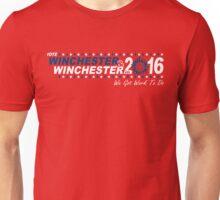 Vote Winchester in 2016 Unisex T-Shirt