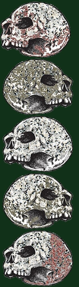 Skull Stack (Green Variation) by ProjectMayhem