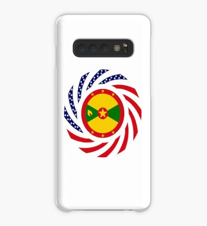 Grenadian American Multinational Patriot Flag Series Case/Skin for Samsung Galaxy
