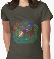 Adam and Eve Women's Fitted T-Shirt