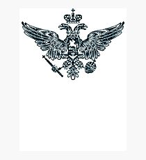 Coat of Arms of Russian Empire Photographic Print