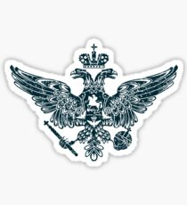 Coat of Arms of Russian Empire Sticker