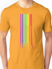 American Flag- Gay Pride Unisex T-Shirt