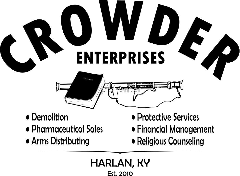 Crowder Enterprises (Black) by pixhunter