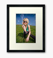 40 Framed Print