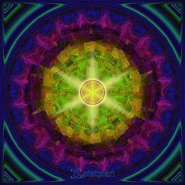 Mandala des Vertrauens von Geistplan
