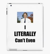 Parks & Recreation Chris Traeger iPad Case/Skin
