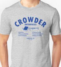 Crowder Enterprises (Blue) Unisex T-Shirt