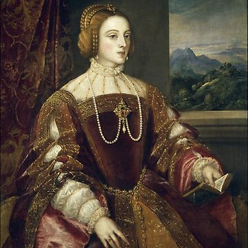 Isabella of Portugal by Titian by Geekimpact