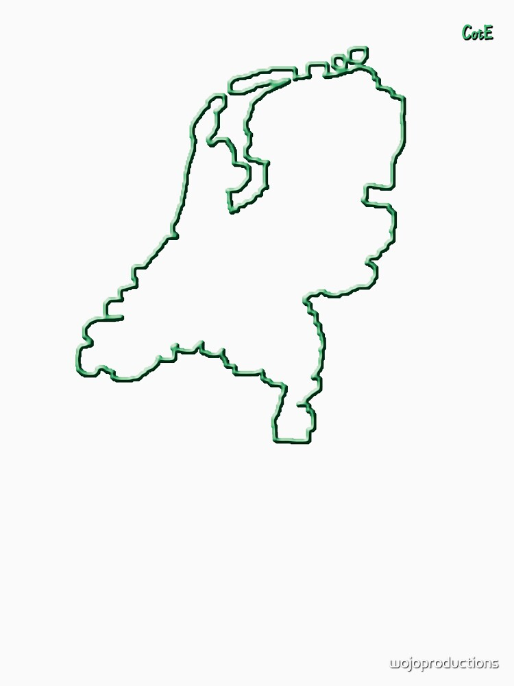 """Netherlands """"Citizen of the Earth"""" large by wojoproductions"""