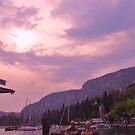 a couple next to lake garda by xxnatbxx