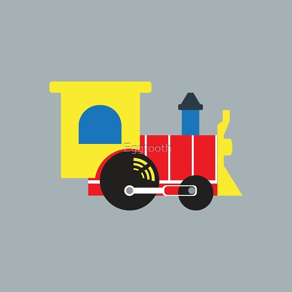 Retro Toy Train by Eggtooth