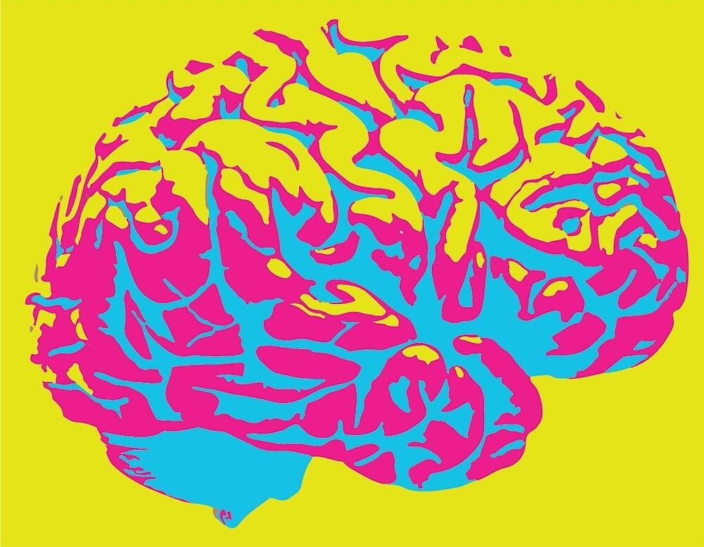 CMYK Brain by rcrdwll