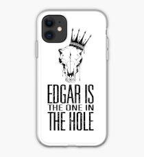 Vinilo o funda para iPhone Edgar es el que está en el agujero