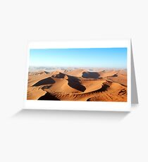 Sossusvlei Dunes Greeting Card