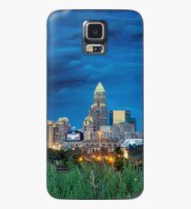 charlotte nc skyline Case/Skin for Samsung Galaxy