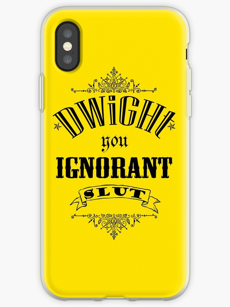 You Ignorant Slut - Yellow by pickledbeets