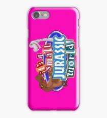 It's a Small Jurassic World (Logo w dinos) iPhone Case/Skin