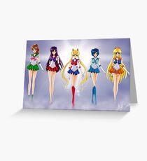 Sailor Mond Kristall Grußkarte