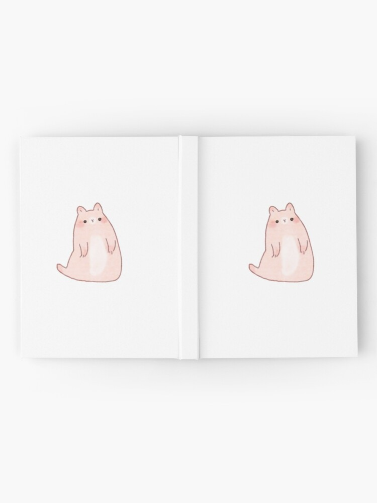 Alternate view of Cat Seal  Hardcover Journal