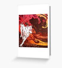 Wolf Okami Grußkarte