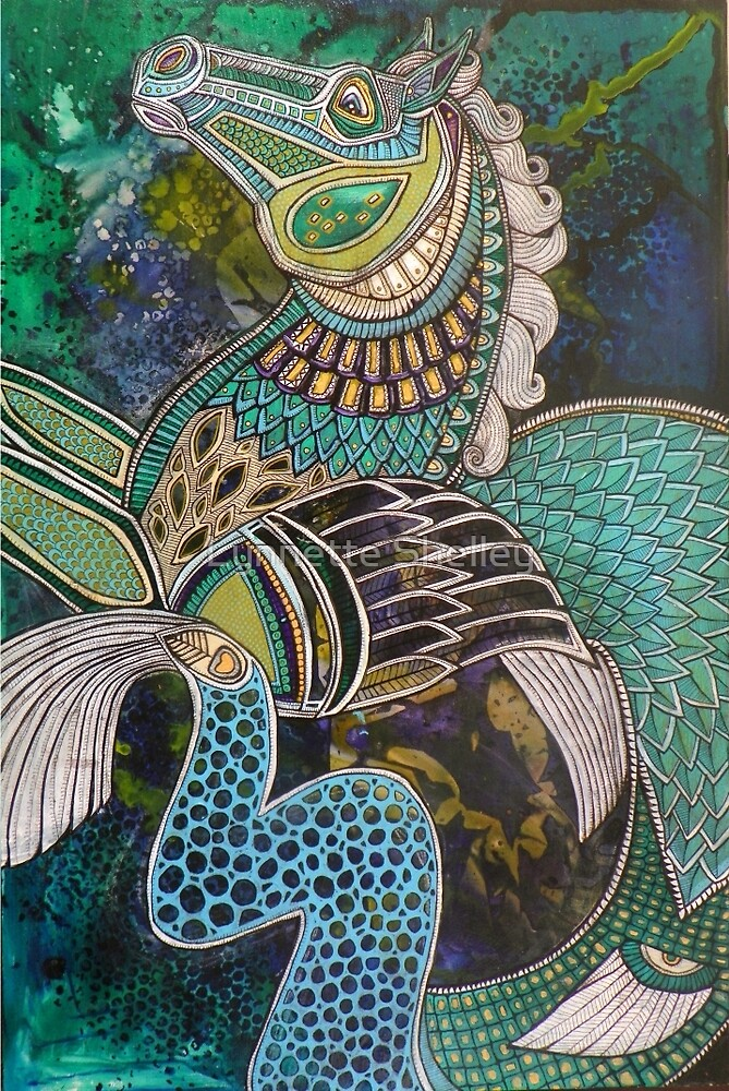 Hippokampos by Lynnette Shelley
