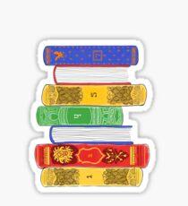 H P Books Sticker