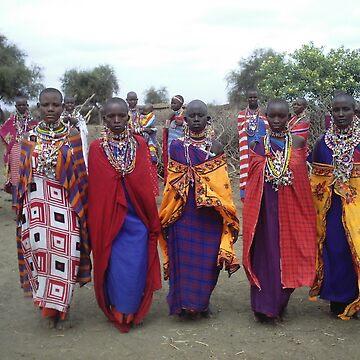 Masai women by pixiealice