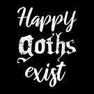 «Happy Goths Exist» de henartorinos