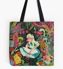 Alice in Wonder Tote Bag