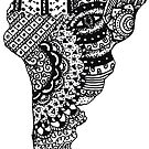 «doodle mandala de américa del sur» de MariaSandia