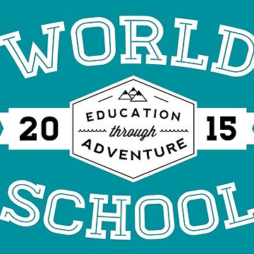 World School 2015 (White!) by WorldSchool