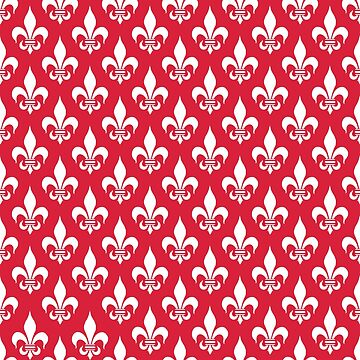 Fleur-de-Lis: Red by MilitaryCandA