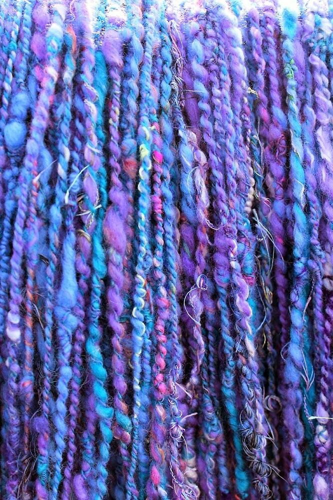 purple yarn by juliepotter
