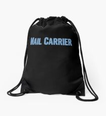 Tshirt Gifts For Mail Carriers Drawstring Bag
