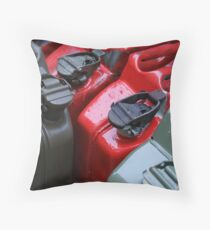 bright canisters Throw Pillow