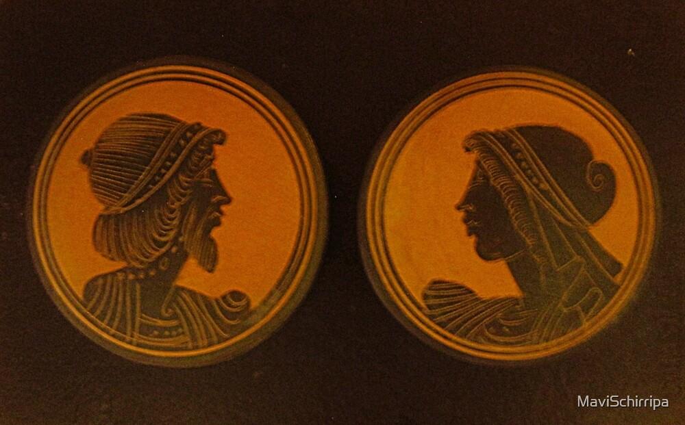 Greek profiles by MaviSchirripa