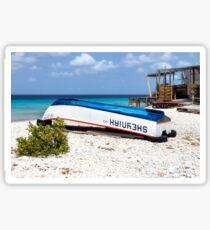 Bonaire. Old Boat Sticker