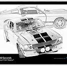 Gone In 60 Seconds - 1967 Shelby Mustang GT500 by Ewan Arnolda
