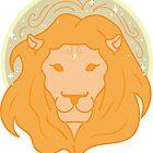 Leo Lion - GOLD by VenusandMoon