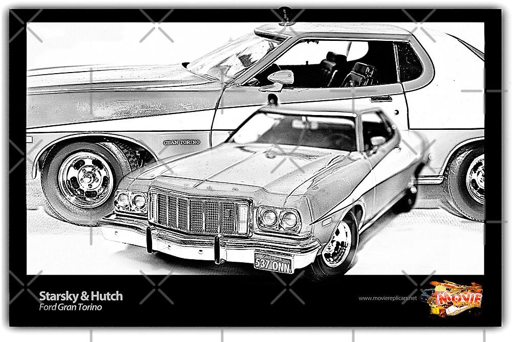 Starsky & Hutch - Ford Gran Torino by Ewan Arnolda