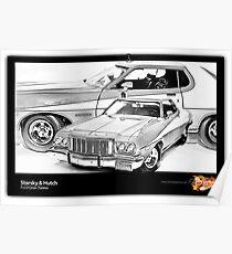Starsky & Hutch - Ford Gran Torino Poster
