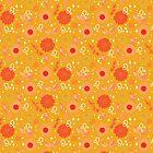 Leo Floral Pattern - GOLD by VenusandMoon