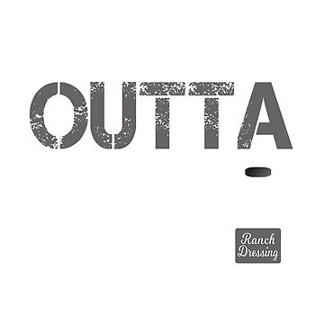 "Funny ""Straight Outta Ranch"" Shirt Gift For Ranch Dressing Lover by techman516"