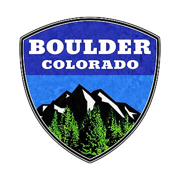 Boulder Colorado  by MyHandmadeSigns