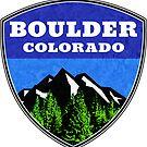 Boulder Colorado  by MyHandmadeSigns