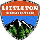 Littleton Colorado  by MyHandmadeSigns