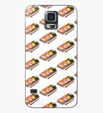 Cute Line of Ramen Case/Skin for Samsung Galaxy