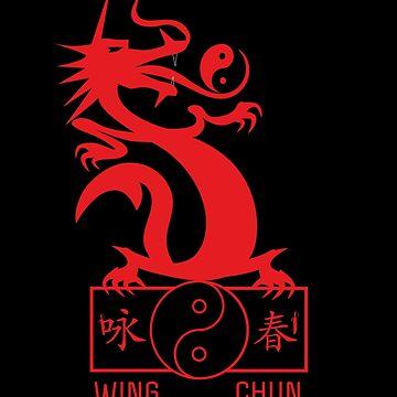 Dragon wing chun kung fu by DeLaFont