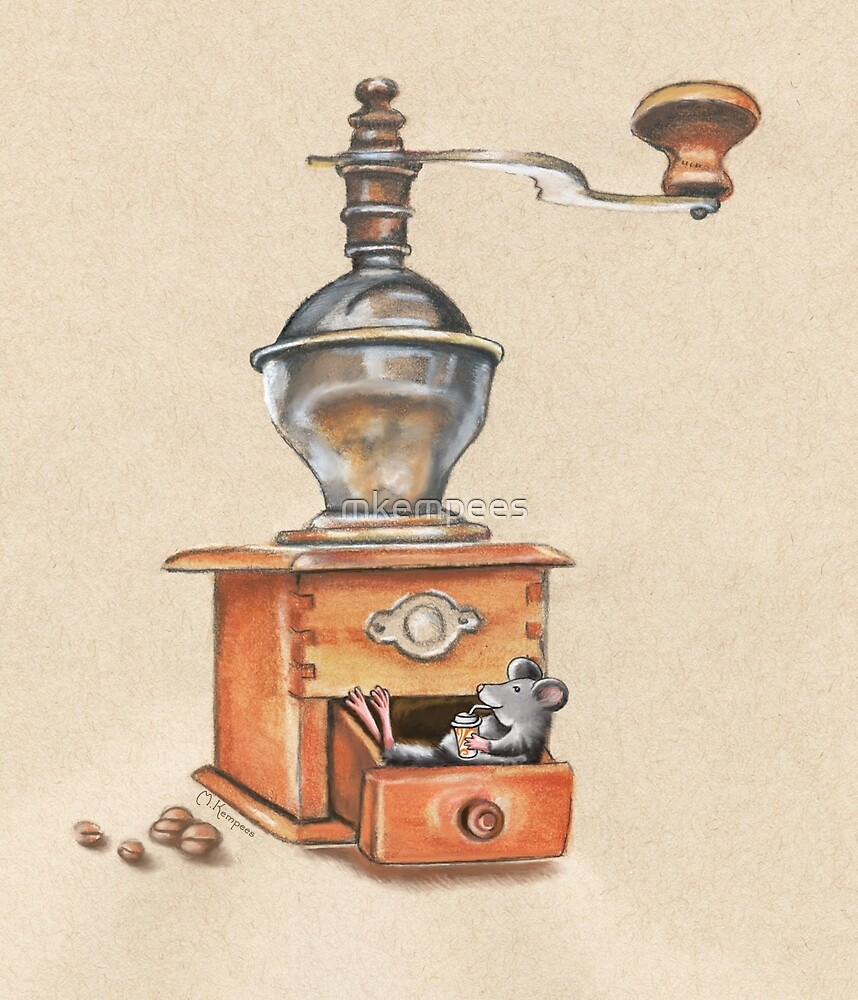 Coffee Mouse by mkempees